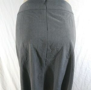Apostrophe Size 16 Gray Work Skirt